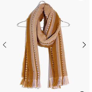BRAND NEW MADEWELL Chunky Weave Fringe Scarf